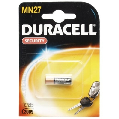 Батарейка  Duracell Security MN27 12V